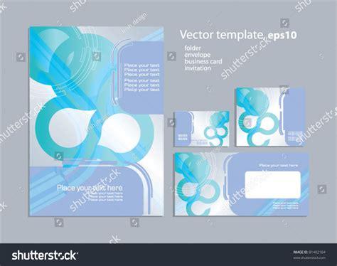 business folder template vector template business artworks folder business stock
