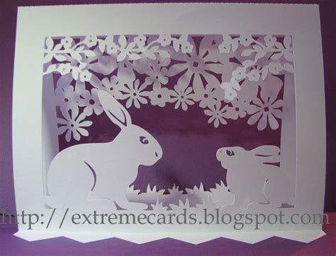 Silhouette Pop Up Card Template by Easter Pop Up Card Cutting Files Cut With Cameo From