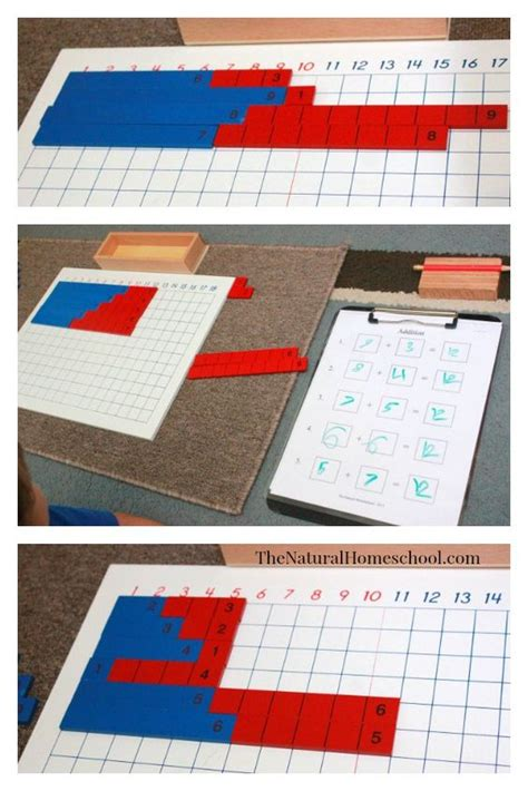 printable montessori addition strip board pinterest the world s catalog of ideas