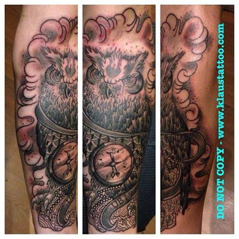 owl tattoo london owl tattoo by klaus tattooer rose tattoo paignton