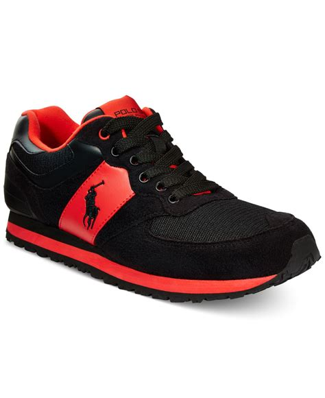 Sneakers Redblack polo shoes and black www imgkid the image kid