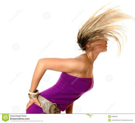 is swinging healthy swinging hair fun stock image image of adult healthy