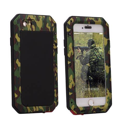 2 In 1 Metal Iphone 6 shockproof aluminum camo metal gorilla cover for iphone 6 6s plus ebay