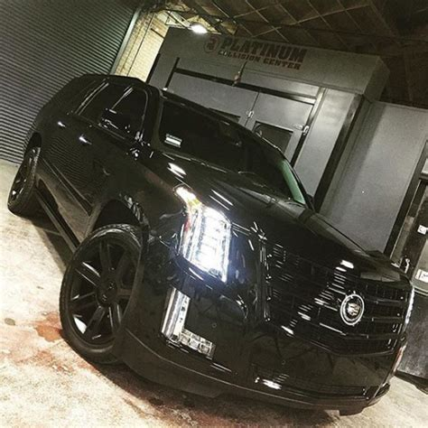 barker cadillac travis barker s cadillac escalade is on point