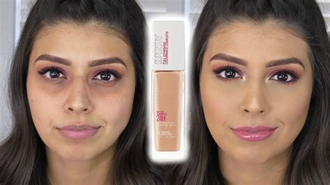 Maybelline Superstay Coverage Foundation omg new maybelline superstay coverage foundation