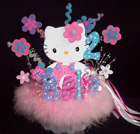 Have Your Daughter S Next Hello Kitty Themed Birthday At Hello Centerpieces For Birthday