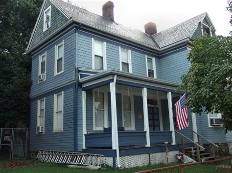Home Blue by Blue Victorian House On Chess St Monongahela Pa Lost