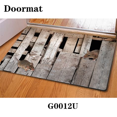 modern home floor mats 400 600mm 3d animal house room mats