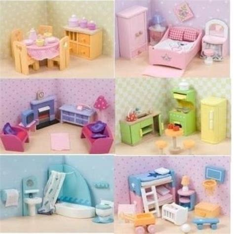 le toy van doll house furniture le toy van sugar plum dollhouse furniture collection the magical dollhouse