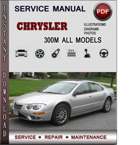 chrysler 300m service repair manual download info service manuals