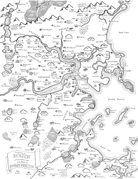 R Drawing Maps by Maps Of Modern Cities In The Style Of J R R Tolkien