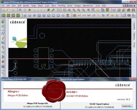 pcb layout software cadence cadence orcad v16 3 shooters