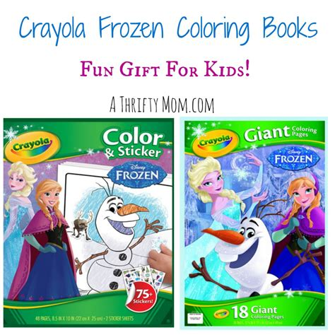 frozen coloring pages crayola crayola frozen coloring books only 6 99 gift for