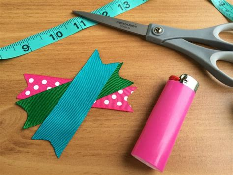 How To Make Different Types Of Hair Bows by How To Make Hair Bows Out Of Ribbon