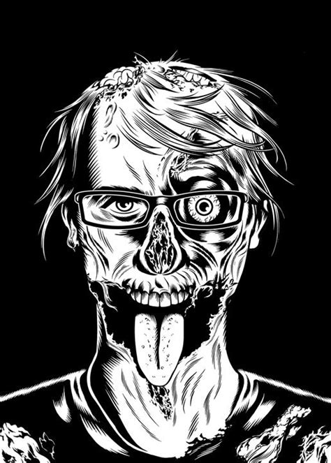 zombie yeti tutorial 17 best images about illustration zombies n goo on