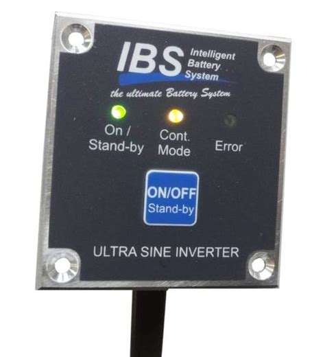 Ibs Product Find Destination by Remote Unit Rp03 For 800 1600w Inverters