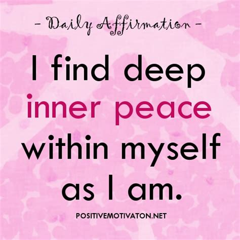 finding the deep river within a woman s peace quotes and affirmations quotesgram