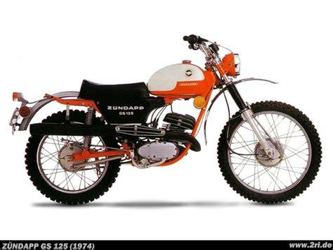 Motorradhersteller Ccm by Z 252 Ndapp Gs 125 1974 2ri De
