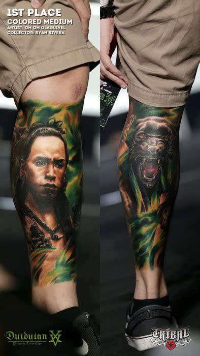 tribal gear dutdutan tattoo festival 2015 tattoo