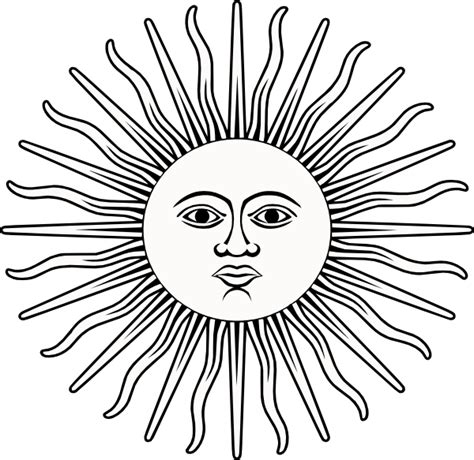 sun face coloring page mexican sun face coloring coloring pages