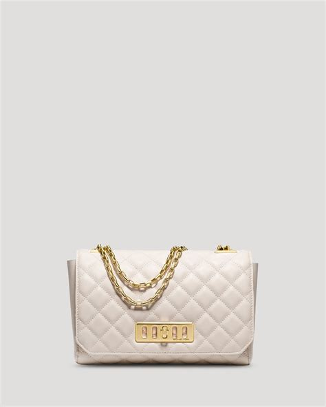Michael Kors Shoulder Flap Bag by Michael Kors Shoulder Bag Quilted Flap In White