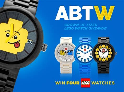 legos for adults giveaway four lego watches for adults ablogtowatch