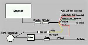 external monitor wiring diagram