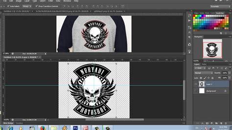 desain logo kaos komunitas  photoshop youtube