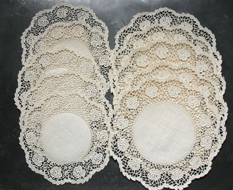 Paper Doilies Crafts - vintage paper doilies for crafts wedding garland