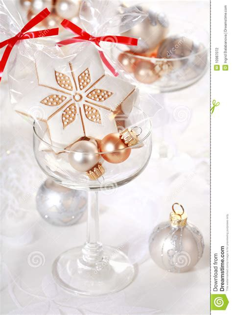 gingerbread gifts for guests stock photography image