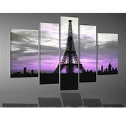 Cuadros Modernos Torre Eiffel En Blanco Y Negro  Car