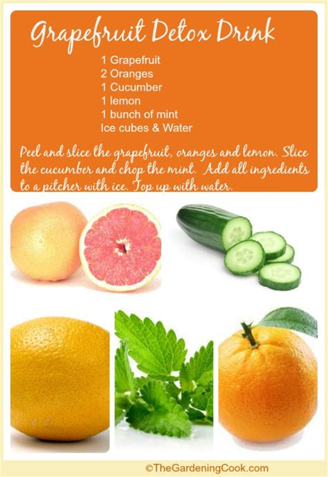 Grapefruit Detox For Weight Loss by Ways To Use Grapefruit The Gardening Cook