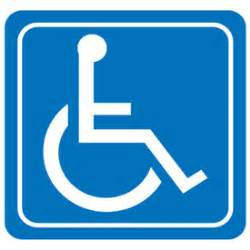 handicap bathroom sign restroom signshandicap symbol setonstock items ship today