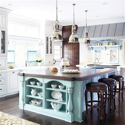 Kitchen Island Accent Color Accent Color Island Kitchen Island For The Home