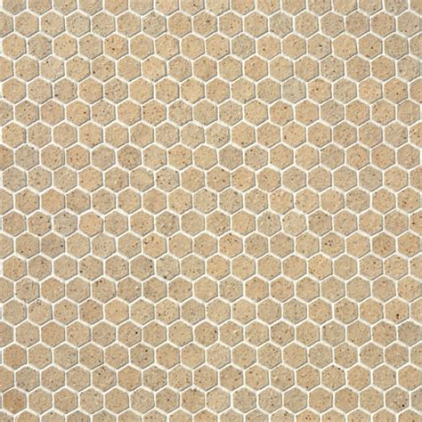 Honeycomb Mosaic Floor Tiles by Honeycomb Mosaic Tile Light Earth Modern Wall And Floor Tile