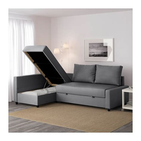 Ikea Corner Sofa Bed Friheten Corner Sofa Bed With Storage Skiftebo Grey Ikea