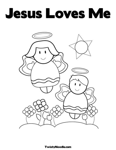 Draw Jesus Loves Me Coloring Page 81 On Coloring Pages Me To You Colouring Pages