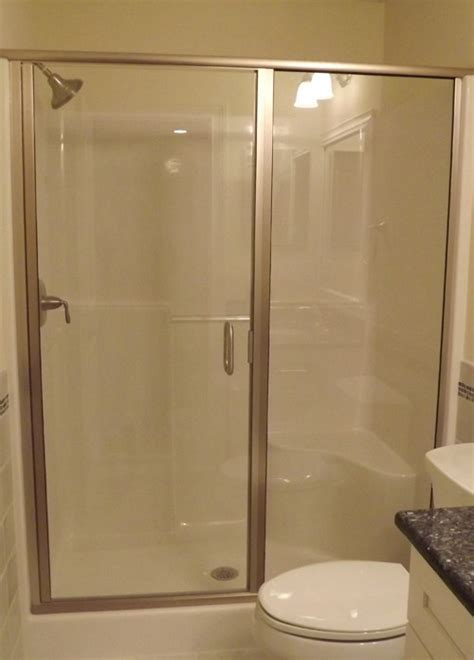 Semi Frameless Shower Doors by Semi Frameless Shower Doors Raleigh Nc Shower Glass