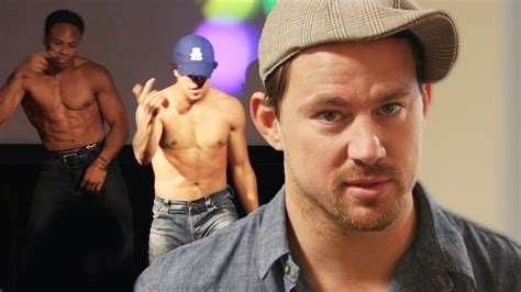 behold the dutch magic mike channing tatum dances at prank magic mike xxl screening