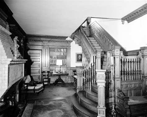house of blades hall and stairway w b blades house william b blades house new bern n c ncar