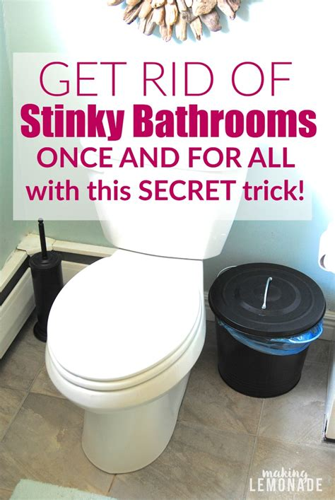 bathroom smells get rid of stinky bathrooms once and for all making lemonade