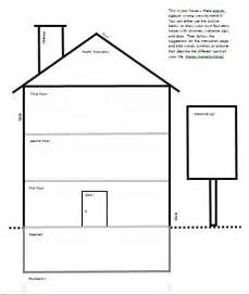 template for quot draw your house quot activity child