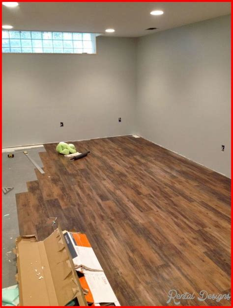 Basement Floor Finishing Ideas Basement Flooring Ideas Rentaldesigns
