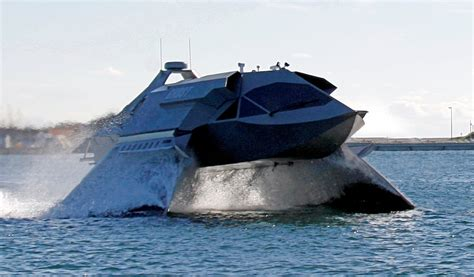 ghost boat incredible ghost boat is perfect bond villain runabout
