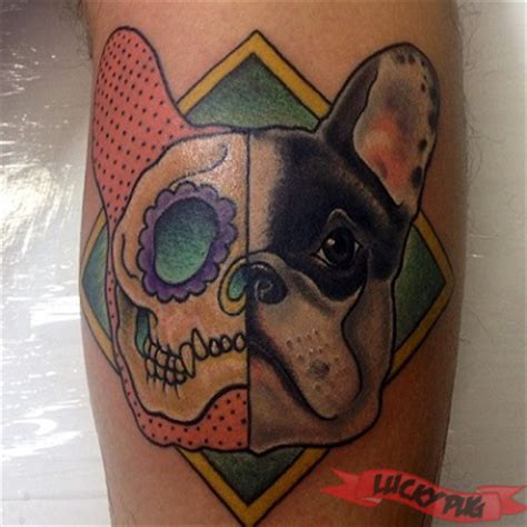 french bulldog tattoo bulldog tattoos boxer boston terrier