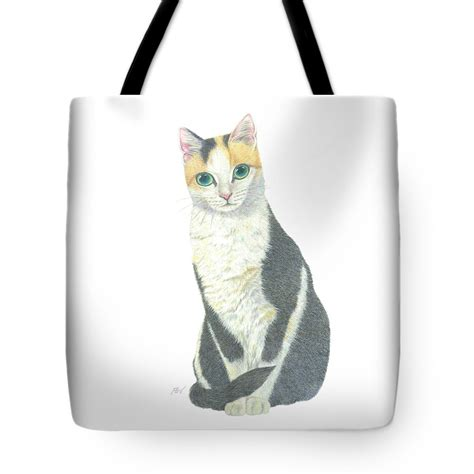 Not A Cat Tote Bag a calico cat tote bag for sale by jingfen hwu