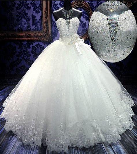 strapless sweethart wedding dress princess
