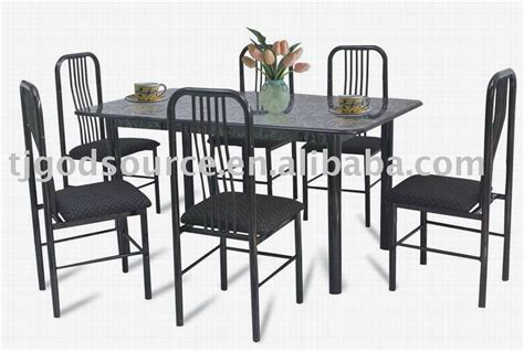 Metal Dining Table Sets Dining Room White Metal Dining Table Chairs Buying White Metal Dining Table Glubdubs
