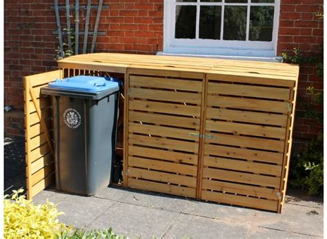 Diy Wheelie Bin Storage Plans