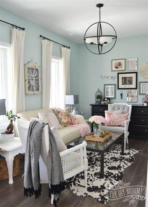 Living Room Vintage Decorating Ideas - 2016 home tour nature inspired vintage farmhouse
